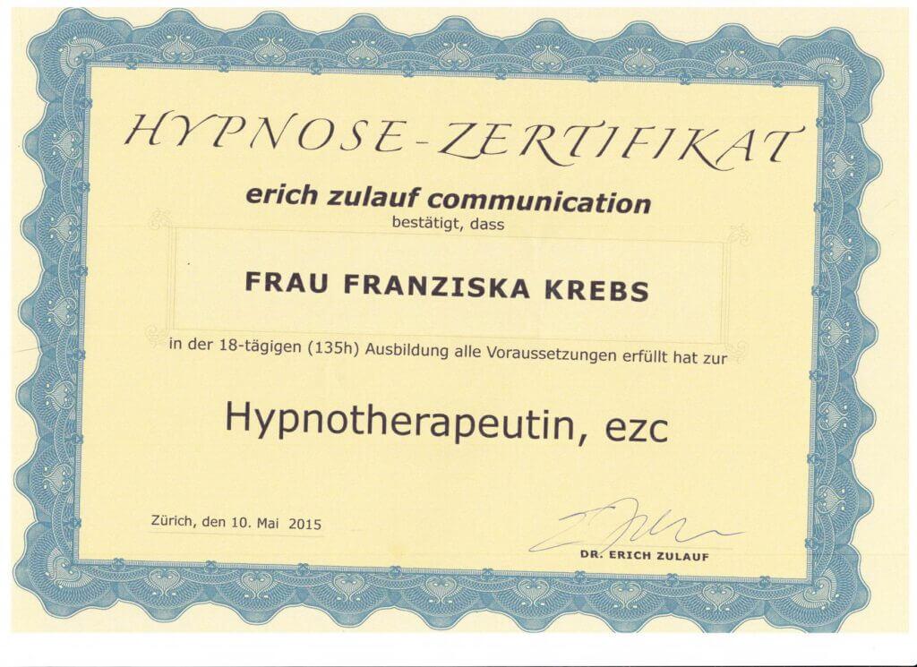 Diplom Hypnotherapeutin